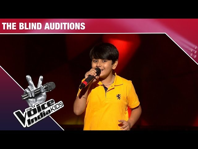 Madhav Performs On Likhe Jo Khat Tujhe | The Voice India Kids | Episode 1