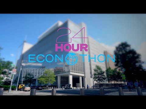 24 hour ECONOTHON | World Bank Live