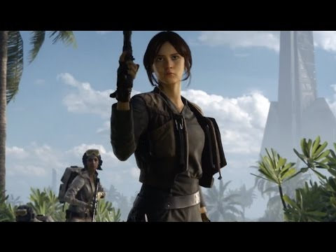 Star Wars Battlefront Rogue One Scarif  Official Trailer Poster