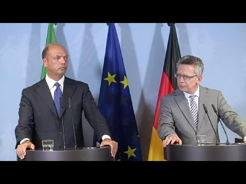 Italy has Germany's support on migration issue, September 3, 2014 - euronews (in English)  - HU3B6KYSbec -