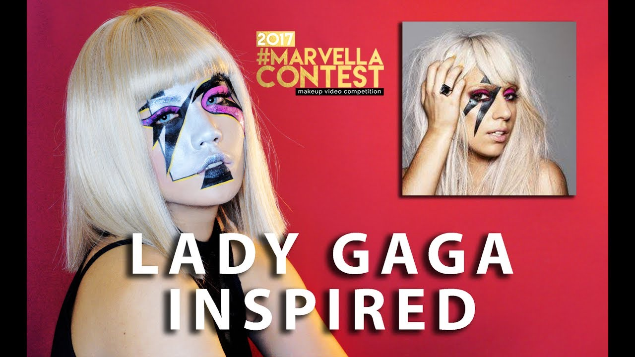 Lady Gaga Inspired Makeup Iconic Top 30 Marvellacontest2017