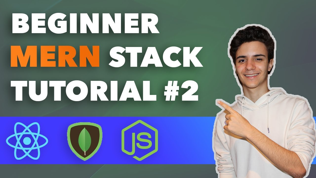MERN Stack Beginners Tutorial  - Connecting With React