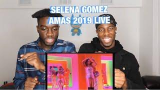 SELENA GOMEZ AMAS 2019 LIVE PERFORMANCE REACTION