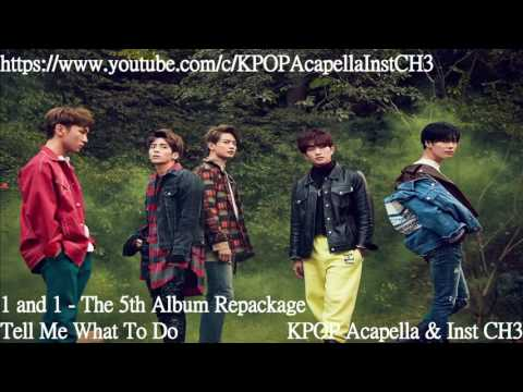 [Acapella] SHINee (샤이니) - Tell Me What To Do