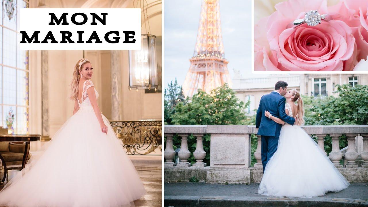Mon mariage look complet preparations photos youtube for Don de robe de mariage militaire