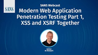 Modern Web Application Penetration Testing Part 1, XSS And XSRF Together