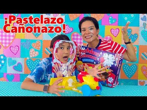 PASTELAZO CAÑONAZO CHALLENGE | AnaNana Toys