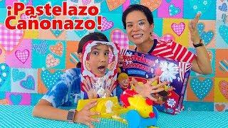 PASTELAZO CAÑONAZO CHALLENGE   AnaNana Toys