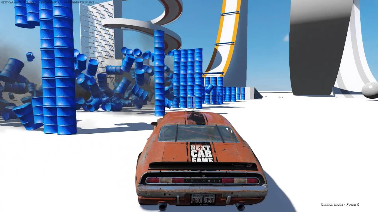 Messing Around In Next Car Game Part