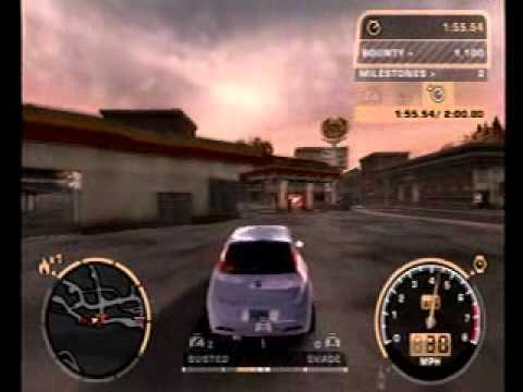 Need For Speed Most Wanted Black Edition Ps2 Youtube