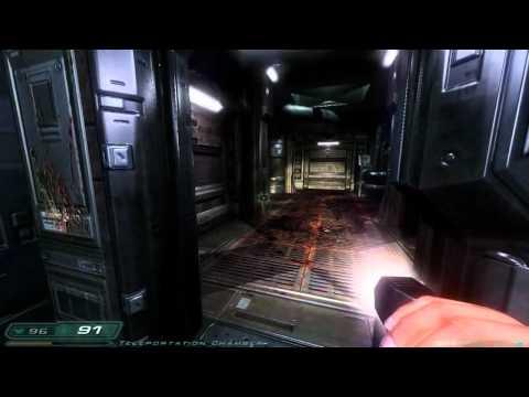 Doom 3: RoE Walkthrough Part 7 HD - Phobos Labs - Sector 1: Teleportation