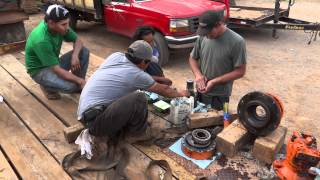 How To Replace Excavator Swing Gear Seal (HD)
