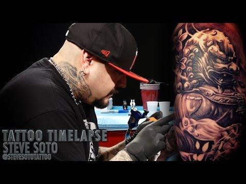 Tattoo Time Lapse - Steve Soto