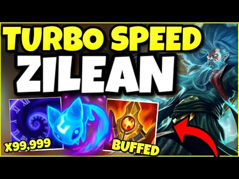 THIS NEW REWORK MAKES ZILEAN's ENTIRE TEAM 900% FASTER?! NEW SHURELYAS = TURBO SPEED ZILEAN SUPPORT!