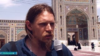 Two tourists share their experience of visiting the shrine of Imam Rida (AS)