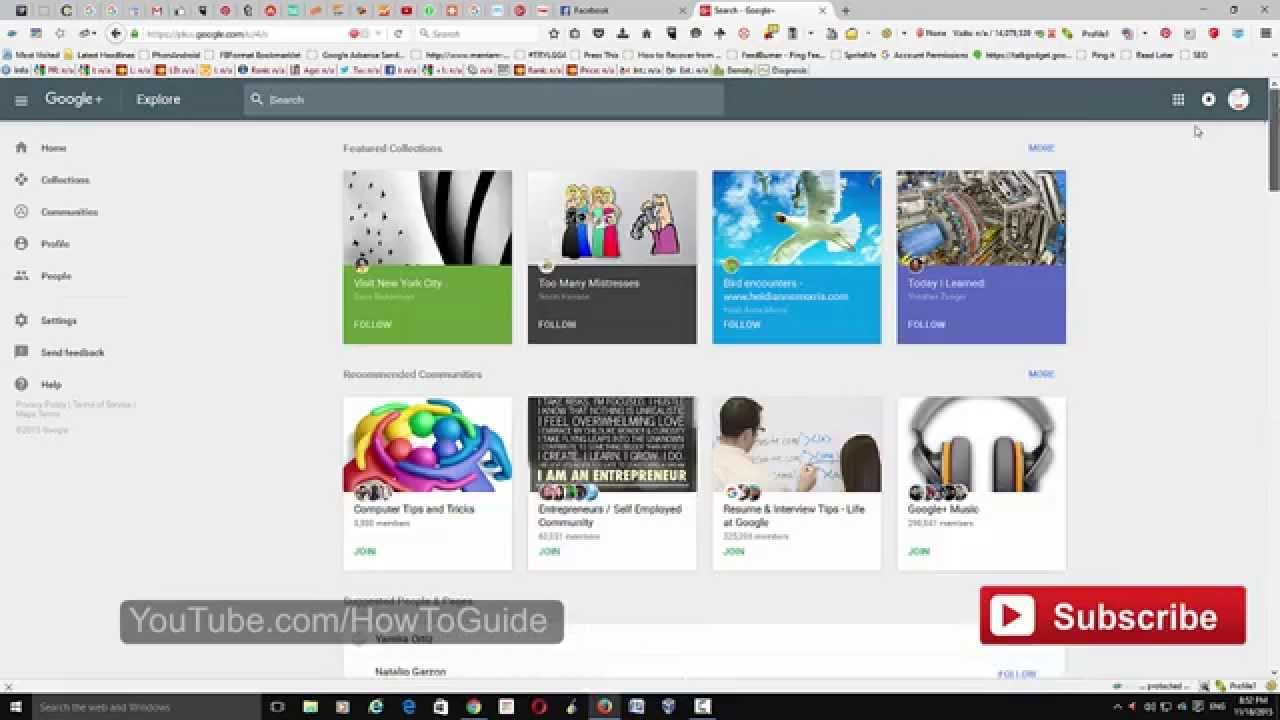 Google How To Switch Between New And Old Google Plus 2015 Youtube