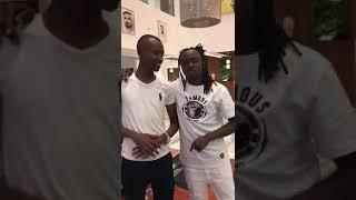 Bahati Meets Samidoh In Dubai