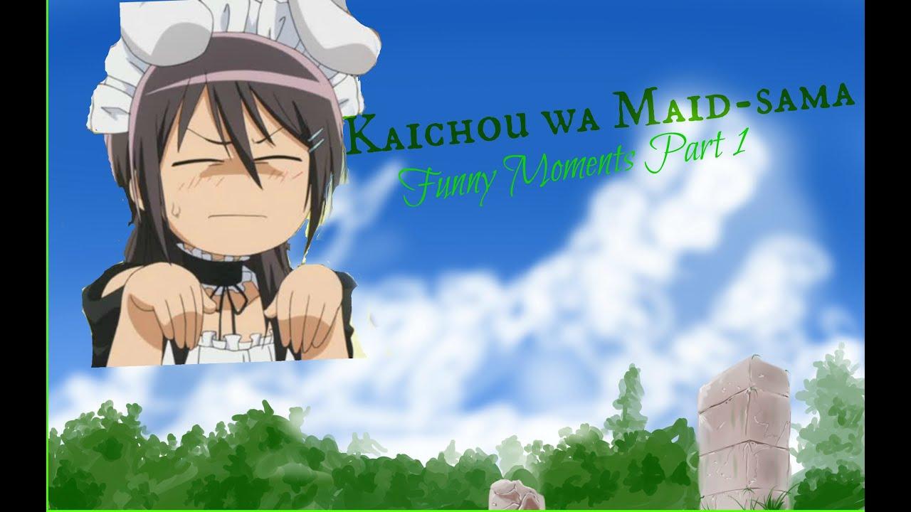 Kaichou wa Maid-sama funny part 1
