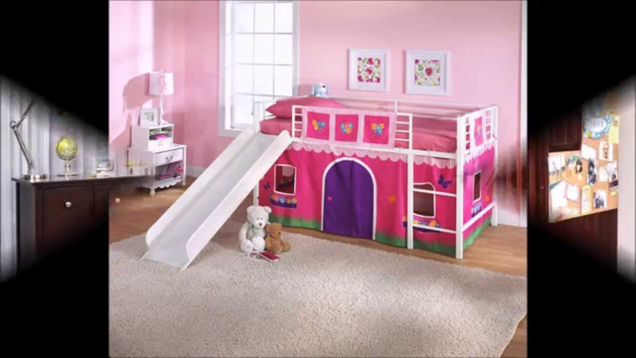 Design Girls Bunk Beds cute and pretty girls bunk beds for your daughter youtube