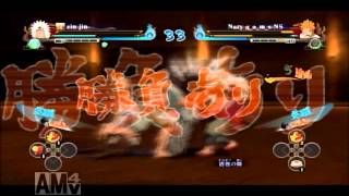NUNSR Curse mark VS Sage mode 呪印VS仙人