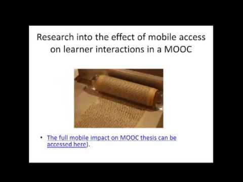 MLWS   de Waard   Open University Pearson Education South Africa   MOOC