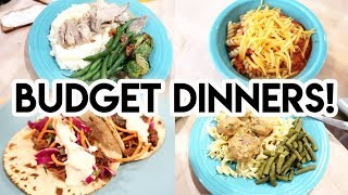 😲 7 BUDGET FRIENDLY DINNERS FROM THE PANTRY! 💵 WHAT'S FOR DINNER? 🍽 FREEZER COOKING