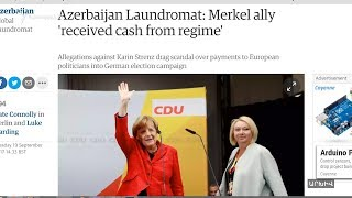 «Ադրբեջանական լվացքատան» սկանդալը սպառնում է խառնել Մերկելի խաղաքարտերը