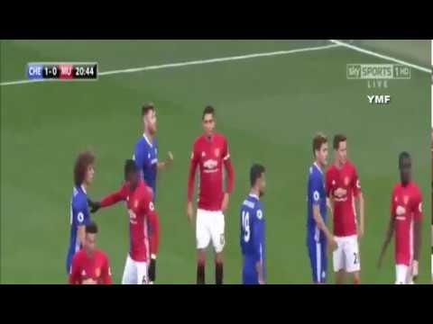 Chelsea vs Man United 4 0 Highlights   English Premier League Week 9   Oct, 23 2016