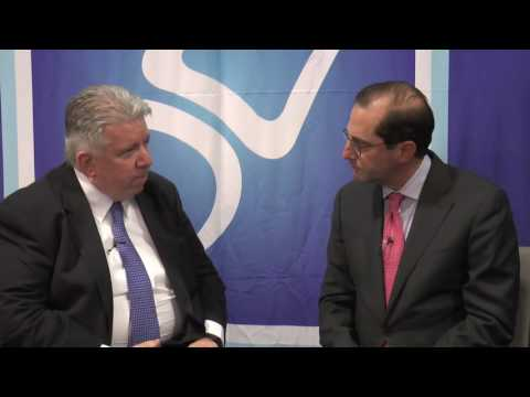 Dr  Jack Cush interviews Alex Azar, president, Eli Lilly & Co.