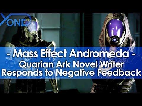 ME Andromeda's Quarian Ark Novel Writer Responds To Negative Feedback