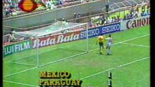 Mexico 86 - Partidos de México, 1a  fase