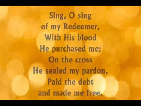 I Will Sing of My Redeemer with Lyrics by Fernando Ortega
