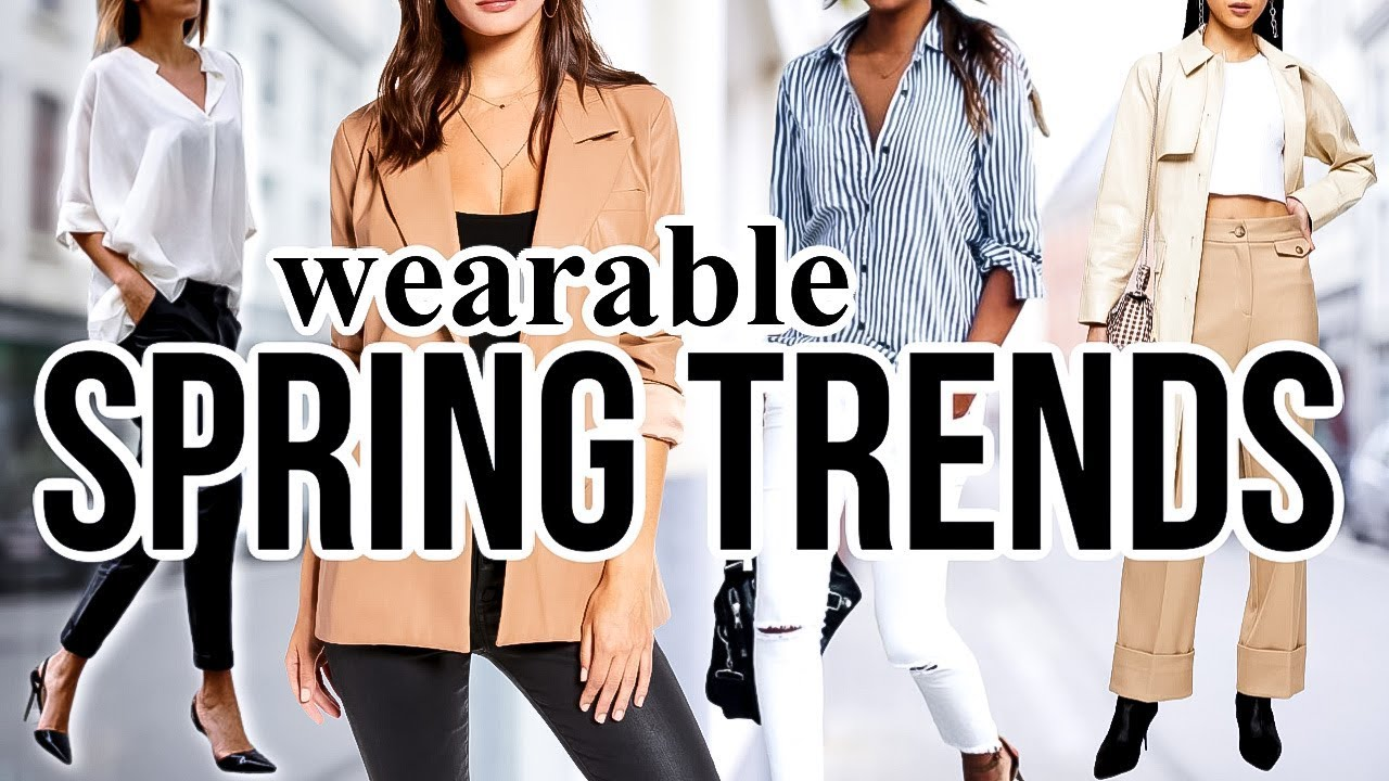 8 Spring FASHION TRENDS To Actually Wear in 8!