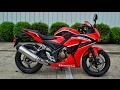 2017 Honda CBR300R Review of Specs   Sport Bike / Motorcycle Walk-Around   CBR 300 R
