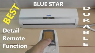 BLUE STAR Split Air Conditioner full detail review after 2 yrs used amp remote function Hindi