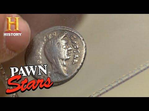 Pawn Stars: Julius Caesar Silver Roman Coin | History