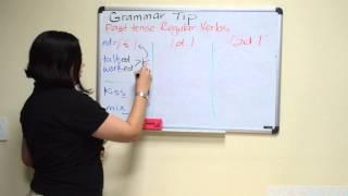 Tip Sitel 5: Grammar Tip - Past Tense Regular Verbs