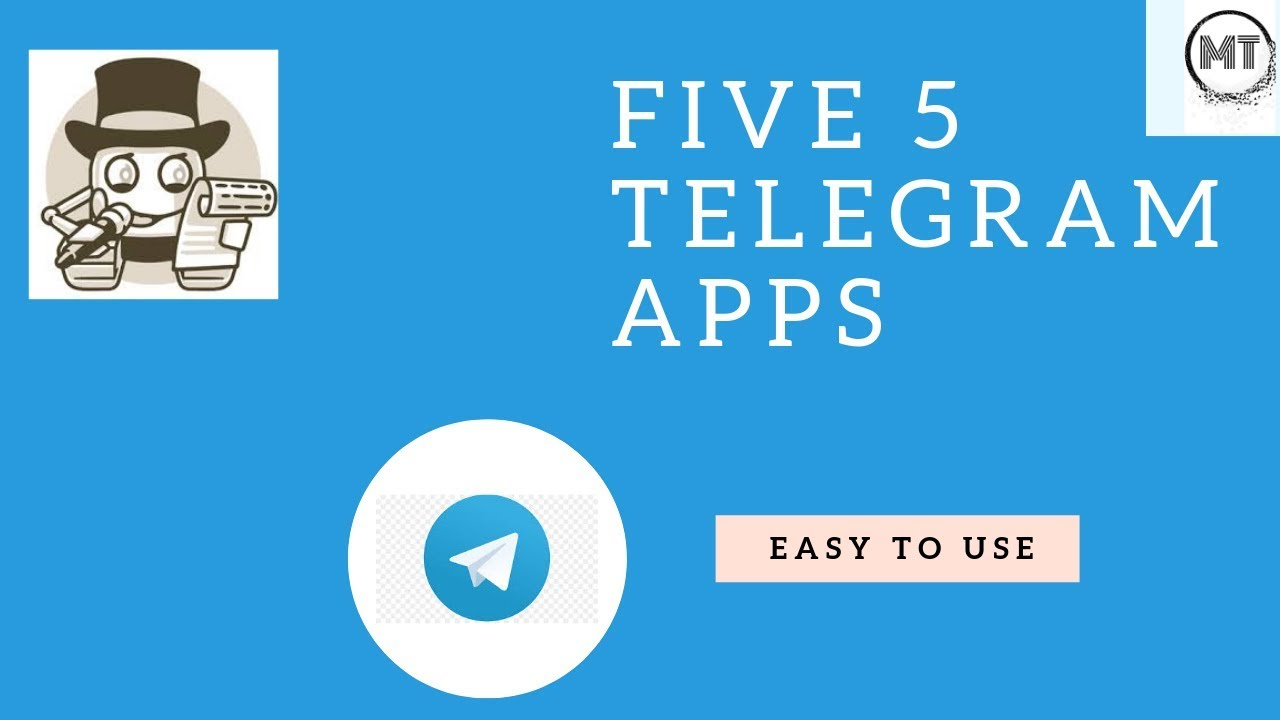Five Telegram Apps