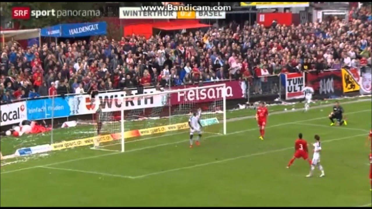 Cup Fc Winterthur Vs Fc Basel 0 4 21 09 2014 Highlights Youtube