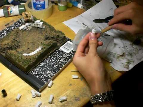How To Make Sandbags Model