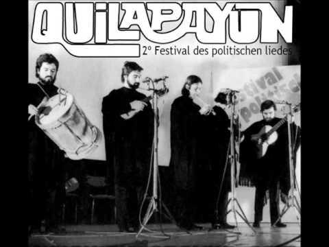 """Audio: """" QUILAPAYÚN EN 2° FESTIVAL POLITISCHEN LIEDES """" - Año:1971"""