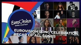 Eurovision Song Celebration 2020 - All 41 songs