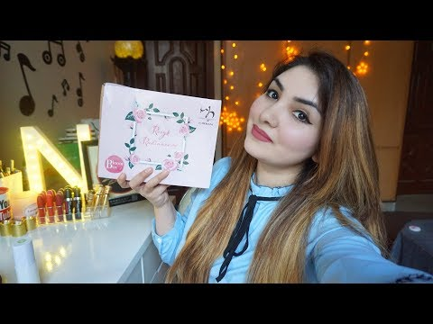 Hemani BloomBox || Monthly Subscription Box Review Demo in urdu/hindi