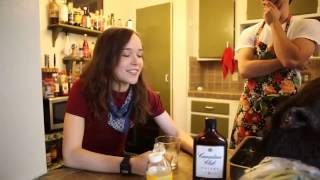 Эллен Пейдж пьяная  / Ellen Page is drunk