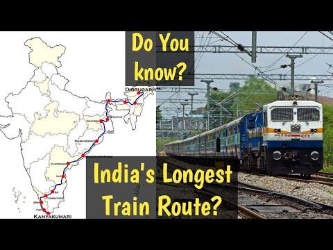 India's Longest Route Train Vivek Express Full Information