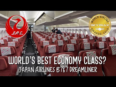 Japan Airlines - WORLD'S BEST ECONOMY CLASS By SKYTRAX??