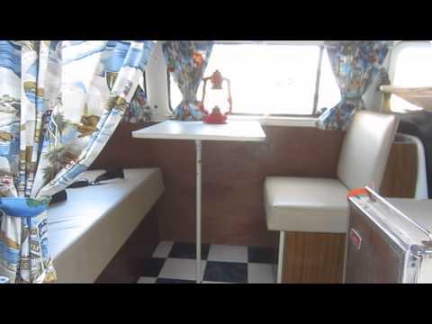 V W camper bus in Encinitas