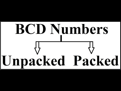 BCD Numbers (Packed and Unpacked )