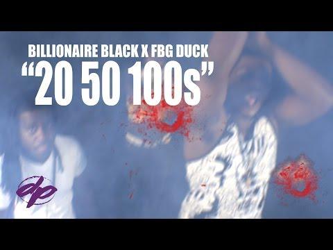 Billionaire Black X FBG Duck - 20 50 100s (Official Video) | Shot by: @DEF_POP