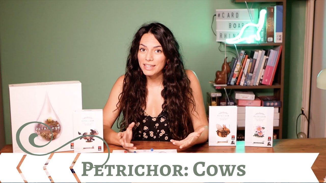 Petrichor: Cows Expansion - Play it Right | Cardboard Rhino